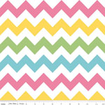 Chevrons Medium Girl Pastel Fabric