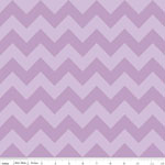 Chevrons Medium Lavender Tone Fabric