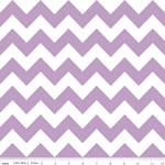 Chevrons Medium Lavender Fabric