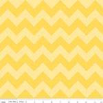 Chevrons Medium Yellow Tone Fabric