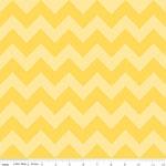 Chevrons Medium Yellow Tone Fabric