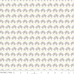 Knit Elephant Gray Fabric