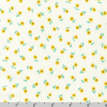 Naptime Small Yellow Daisy Fabric