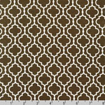 Metro Living Geometric Chocolate Fabric