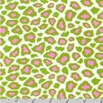 Metro Living Leopard Print Kiwi Fabric