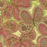 La Scala 5 Paisley Butterfly Dawn Green Fabric