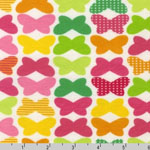 Laguna Jersey Knit Butterflies Fabric
