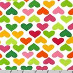 Laguna Jersey Knit Hearts Fabric