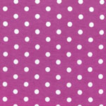 Laguna Jersey Knit Dots Pink Lavender Fabric