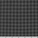 Burly Beavers FLANNEL plaid smoke fabric