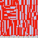 Blake Cotton Jersey Knit Geometric Flame Fabric