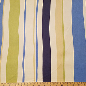 Sevenberry Canvas Stripe Fabric