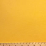 Modern Canvas Solid Yellow Fabric