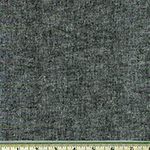 Chambray Stretch Linen Black Fabric