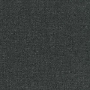Chambray Cotton Rayon Twill Solid Black Fabric