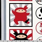 I Am Ninja Fabric