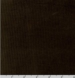 Corduroy 21 Wale Solid Brown Fabric