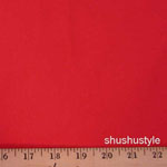Corduroy 21 Wale Solid Red Fabric