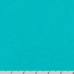 Dana Cotton Modal Interlock Knit Aqualine Teal Fabric