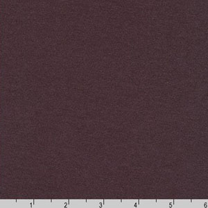 Dana Cotton Modal Knit Dark Plum Purple Fabric