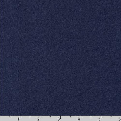 Dana Cotton Modal Interlock Knit Nautical Blue Fabric