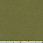 Trainers French Terry Knit Solid Olive Fabric