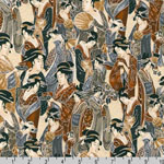 Imperial Collection Geisha Antique Fabric