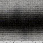 Indigo Knit Small Stripe Blue Fabric