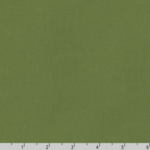 Kona Cotton Solid Ivy Green Fabric