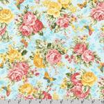 Lady Elizabeth Rose Floral Spring Fabric