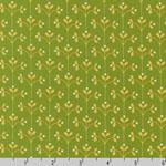 Little Kukla Meadow Chartruese Fabric
