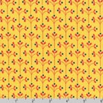 Little Kukla Meadow Yellow Fabric