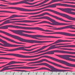 Metro Living Zebra Plum Fabric