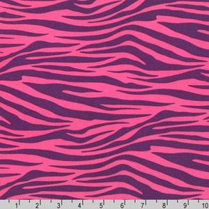 Metro Living Zebra Plum Fabric