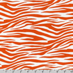 Metro Living Zebra Orange Fabric