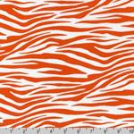 Metro Living Zebra Orange Fabric