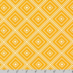 Metro Living Diamond Marigold Yellow Fabric