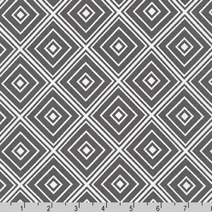 Metro Living Diamond Pewter Fabric