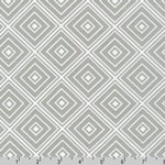 Metro Living Diamond Silver Gray Fabric