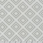 Metro Living Diamond Silver Gray Fabric