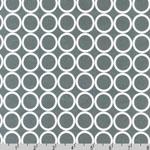 Metro Living Circle Gray Fabric