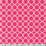 Metro Living Circle Fuchsia Fabric