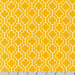 Metro Living Geometric Marigold Yellow Fabric