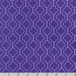 Metro Living Geometric Purple Orchid Fabric
