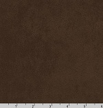 Nu-Suede Chocolate Brown Fabric
