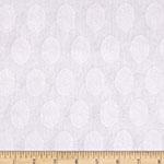 Sweet Lady Jane 2 Jacquard Medallion White Fabric