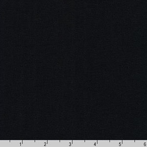 Panda 6oz Bamboo Lycra Blend Jersey Knit Solid Black Fabric