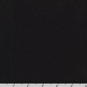 Arietta Ponte De Roma Solid Knit Black Fabric