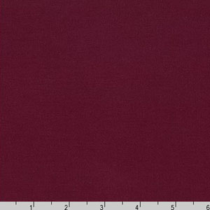 Arietta Ponte De Roma Solid Knit Burgundy Red Fabric