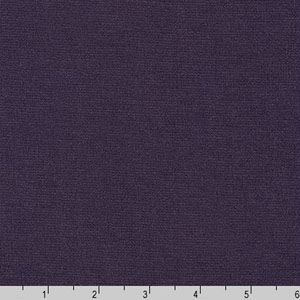 Bella Ponte De Roma Solid Knit Eggplant Purple Fabric